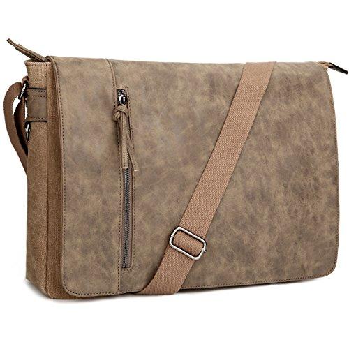 cbb14b0e563d Laptop Messenger Bag 16.5 inch for Men and Women