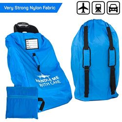 Car Seat Travel Bag Backpack for Gate Check Bag – Waterproof – 600D Nylon Fabric W/Adjusta ...