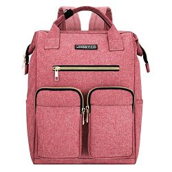 Laptop Backpack for Women,JINS & VICO Lightweight Ladies Backpack Wide Open Large Capatity  ...