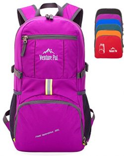 Venture Pal 35L Travel Backpack – Packable Durable Lightweight Hiking Backpack Daypack (Pu ...