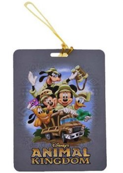 Disney Parks – Luggage Tag – Animal Kingdom – Mickey & Friends