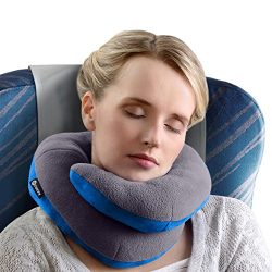 BCOZZY Chin Supporting Travel Pillow – Supports the Head, Neck and Chin in in Any Sitting  ...