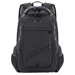C-Xka Travel Laptop Backpack, Business Backpack with USB Charging Port,Large Compartment Water R ...