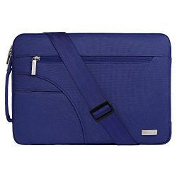 Mosiso Laptop Shoulder Bag Compatible 13-13.3 Inch MacBook Pro, MacBook Air, Ultrabook Netbook T ...