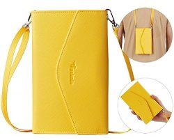 Travelambo Rfid Blocking Passport Holder Wallet & Travel Wallet Envelope 7 Colors (yellow wi ...