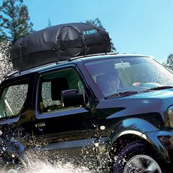 RABBITGOO Waterproof Rooftop Cargo Carrier with Easy to Install Straps – Soft shell Luggag ...
