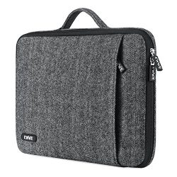 EWWE 360° Protective Laptop Sleeve Briefcase Handbag Case Cover for 15 Inch New MacBook Pro with ...