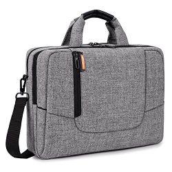 BRINCH 15.6 inch Laptop Computer Case Cover Sleeve Shoulder Strap Bag with Side Pockets Handles  ...