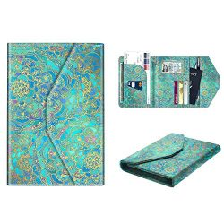 Multi-Purpose Passport Holder Wallet, Fintie Trifold RFID Blocking Travel Document Organizer Cas ...