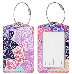 Chelmon Luggage Tags Label Cruise Instrument Bag Case Tags(04 blooming B)