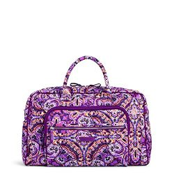 Vera Bradley Iconic Compact Weekender Travel Bag, Signature Cotton, Dream Tapestry