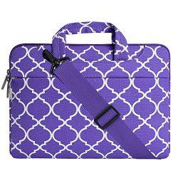 MOSISO Laptop Shoulder Bag Compatible 15-15.6 Inch MacBook Pro, Ultrabook Netbook Tablet, Quatre ...