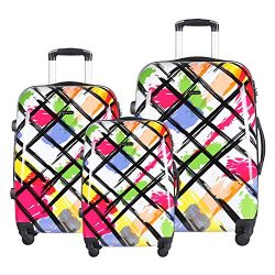 Luggage Set Durable Lightweight Spinner Suitecase