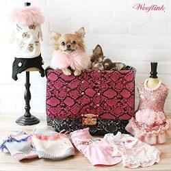 Luxe Bag Pet Carrier by Wooflink – Pink ($30 Off)