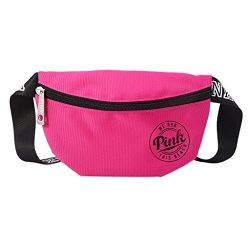 BKID Nylon Waist Pack Zipper Waist Bag Smart Phone Sport Case Travel Fanny Bag Card Pocket (Hot  ...