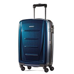 Samsonite Winfield 2 Hardside 20″ Luggage, Deep Blue