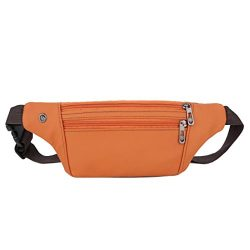 Unisex Outdoor Sports Casual Zipper Unisex Waist Pack Bag by VESNIBA