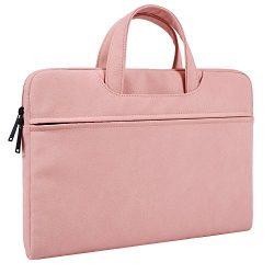 15.6 Inch Premium Leather Laptop Bag Travel Briefcase Messenger Bag Business Office Bag for Acer ...