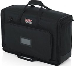 Gator Cases Padded Nylon Dual Carry Tote Bag for Transporting (2) LCD Screens, Monitors and TVs  ...