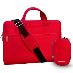 Laptop bag 15.6 inch, FOPATI 15-15.6 Inch Laptop Sleeve Case Briefcase Shoulder bag Messenger ba ...