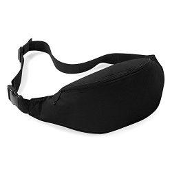Jackie Unisex Men Women Fashion Sporty Multi-purpose 2-Zipper Waist Belt Bag Fanny Pack Adjustab ...