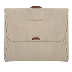 "LIGHT FLIGHT Travel Packing Folder Anti-wrinkle Garment Bag with 16.9"" Folding Board, Beige"