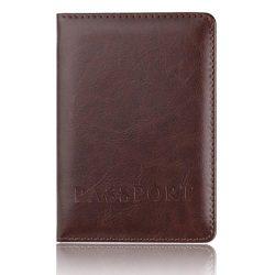 Clearance! HIRIRI Hot Sale Men Women Passport Holder Protector Wallet Business Card Soft Passpor ...