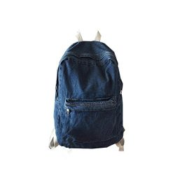 Gillberry  Unisex Denim Travel Backpack Bag School bag Rucksack Casual Retro Bag (Dark Blue)