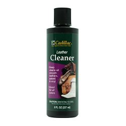 Cadillac Leather Cleaner – Great for Shoes, Boots, Handbags, Car Upholstery, Furniture- Re ...