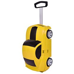 Radio Control Kid Pull Along Travel Case Suitcase Trolley Luggage Car Shape – 11 + FREE E  ...