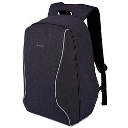 KOPACK Anti Theft Travel Backpack Lightweight Laptop Bag Scan Smart Checkpoint Friendly Black 17 ...
