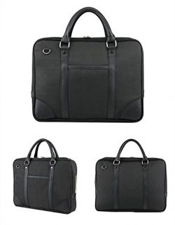 Urmiss 14″ Laptop Classic Business Briefcase Shoulder Bag Messenger Satchel Travel Bag