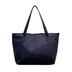 Outsta Ladies Leather Shoulder Bag Pure Color,Women Celebrity Tote Purse Large Messenger Bag Coi ...