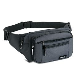 FREETOO Waist Pack Bag Fanny Pack for Men&Women Hip Bum Bag with Adjustable Strap for Outdoo ...