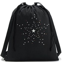 Clearance Sale! HIRIRI Women Girls Simple Little Star Drawstring Sports Shoe Dance Bag Schoolbag ...