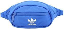 adidas Originals National Waist Pack, Blue/White, One Size