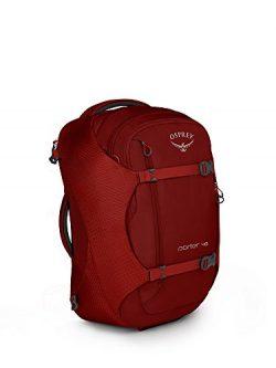 Osprey Packs Porter 46 Travel Backpack, Diablo Red, One Size