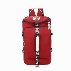 Wenyujh 3-Way Travel Duffel Backpack Luggage Gym Sports Bag for Men and Women