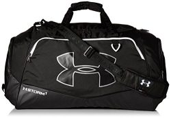 Under Armour Storm Undeniable II Duffle, Black/White, One Size