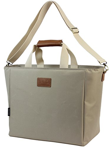INNO STAGE 40L Extra Large Picnic Cooler Bag, Insulated Wine Carrier Tote, Big Cooler