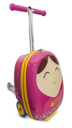 ZincFlyte Kid's Luggage Scooter 18″ – Betty