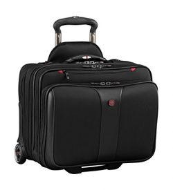 Wenger Luggage Patriot Ii 2-Piece 15.6″ Wheeled Business Set Laptop Bag, Black, One Size