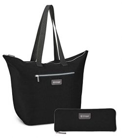 Biaggi Luggage Zipsak Microfold Shopper Tote, 16-Inch