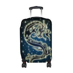LAVOVO Celestial Chinese Dragon Luggage Cover Suitcase Protector Carry On Covers