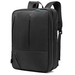 CoolBELL Convertible Messenger Bag Backpack Shoulder Bag Laptop Case Handbag Business Briefcase  ...