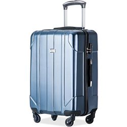 Merax P.E.T Luggage Light Weight Spinner Suitcase 20inch 24inch and 28 inch Available (28-Consig ...