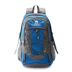 Camel 30L Lightweight Travel Backpack Outdoor mountaineering Hiking Daypack with Durable & W ...