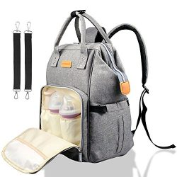 Diaper Bag Backpack,Multi-Functional Nappy Bags Waterproof Travel Backpack for Mom and Dad,Large ...