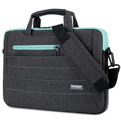 BRINCH 15-15.6 Inch Multi-functional Suit Fabric Portable Laptop Sleeve Case Shoulder Messenger  ...