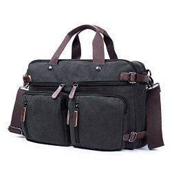RYOMI Convertible Messenger Backpack Laptop Case Laptop Bag Shoulder Bag Business Office Briefca ...